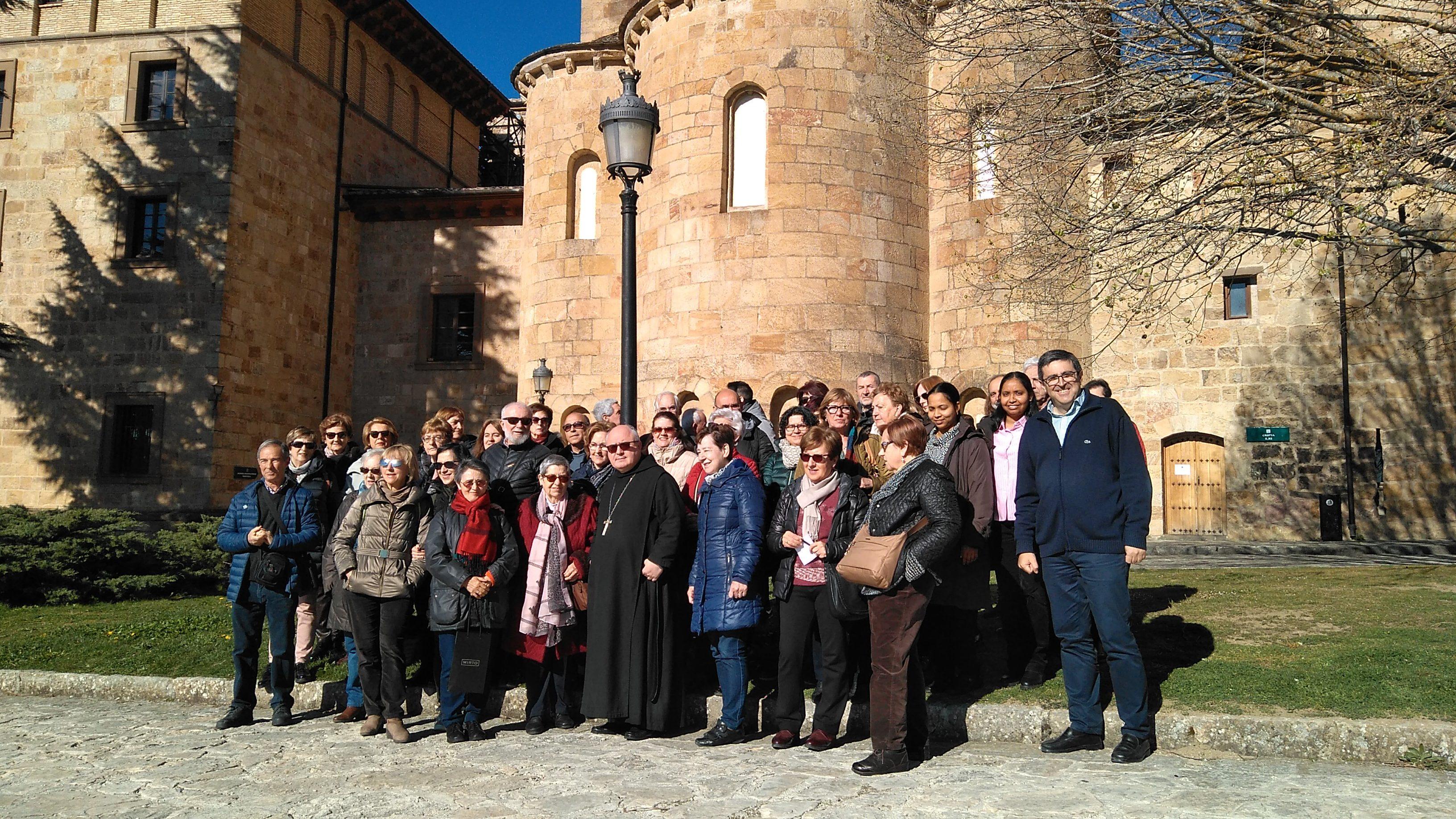 Visita a San Salvador de Leyre y Santa María la Real de Sangüesa